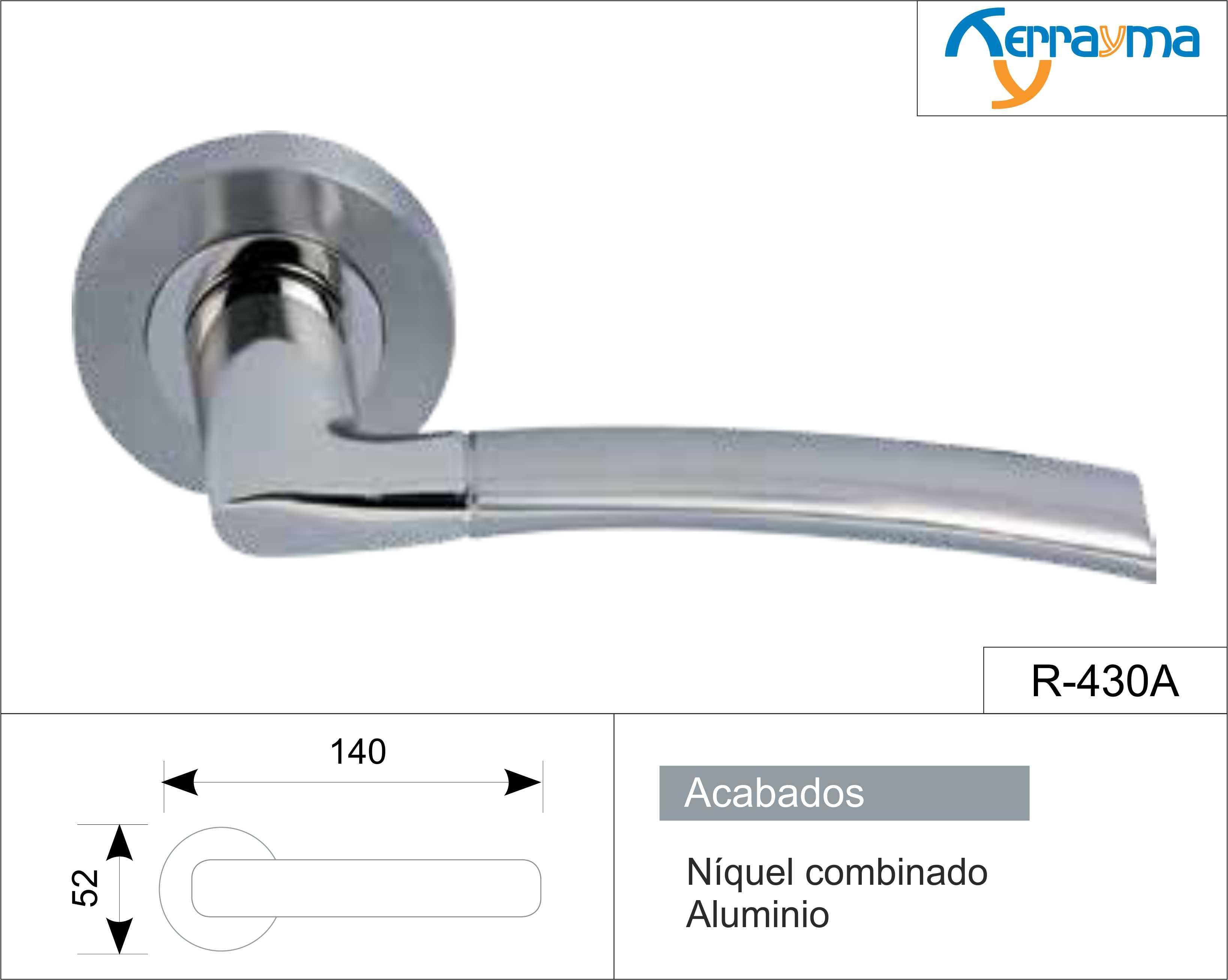 Cambiar manilla puerta aluminio latest el caso es que el - Cambiar pomo puerta ...