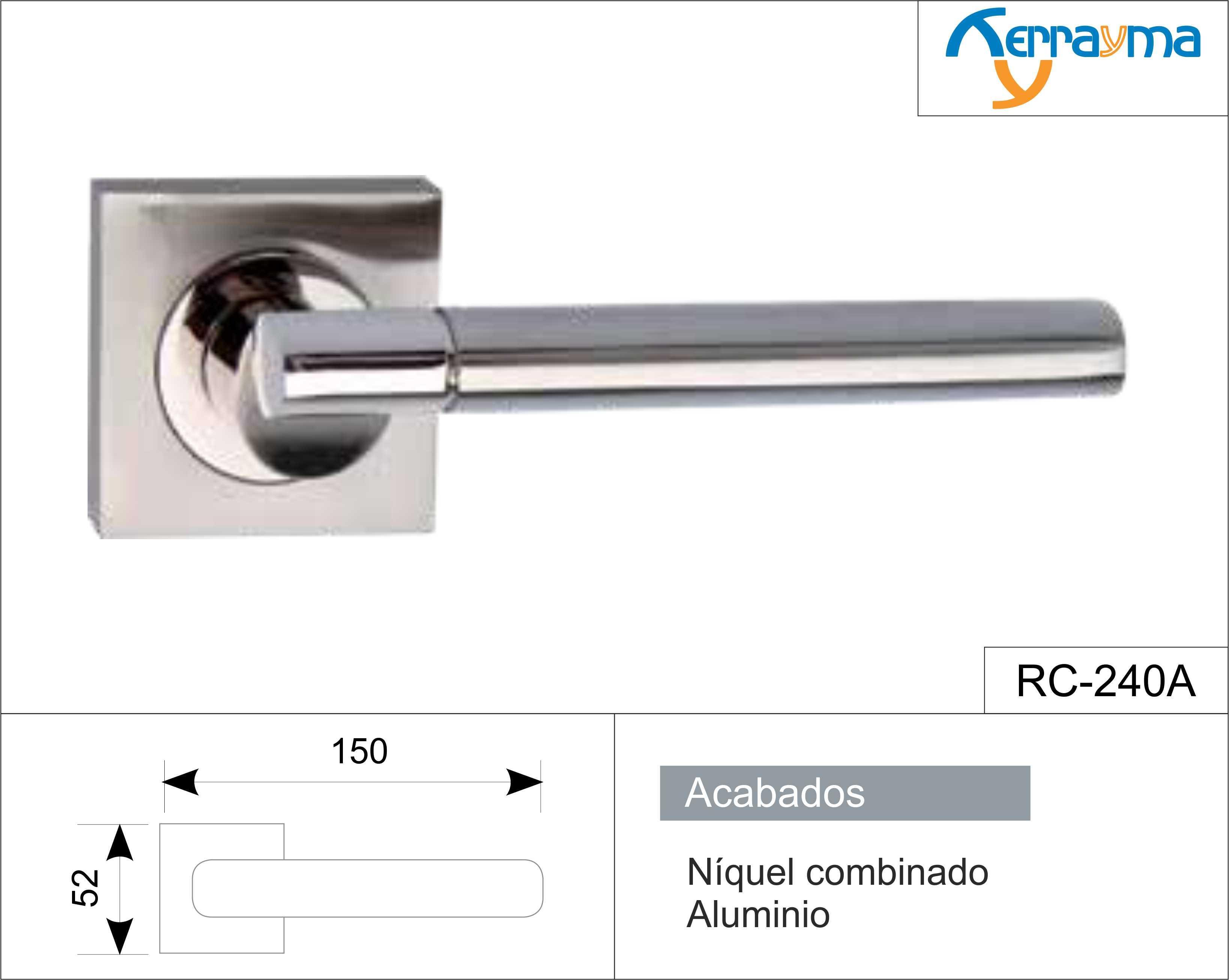 Manillas puertas de aluminio great manilla para ventana for Manillas puertas ikea