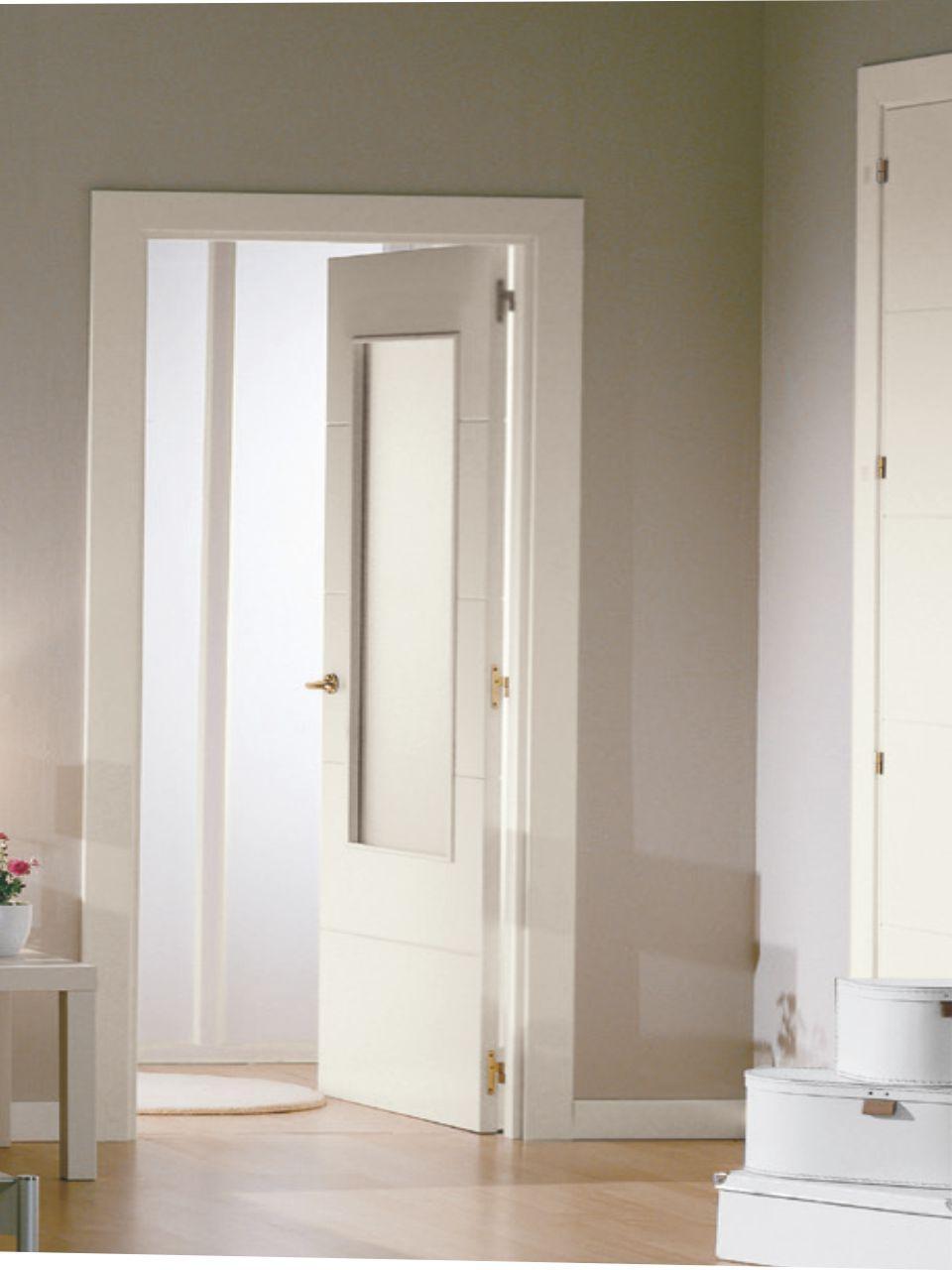 Puerta Interior Lacada Blanco Aleman Mml4
