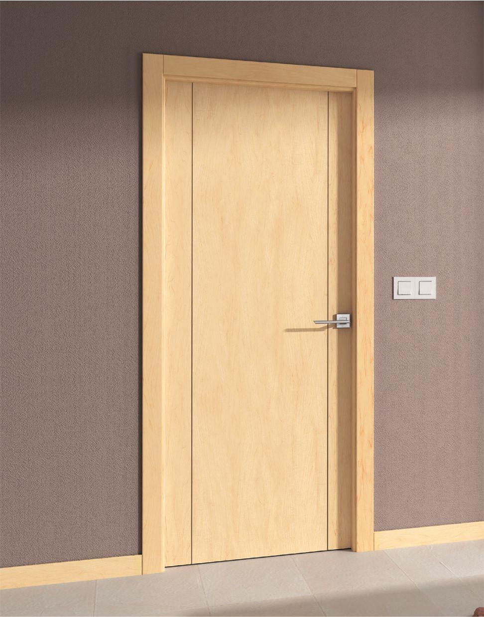 Puerta interior maple mm11 for Precio instalacion puertas interior