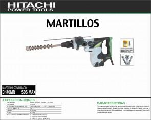 HITACHI-MAQUINARIA-MARTILLO-COMBINADO-DH40MR-SDSMAX