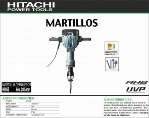 HITACHI-MAQUINARIA-MARTILLO-DEMOLEDOR-H90SG-HEX.28,5MM