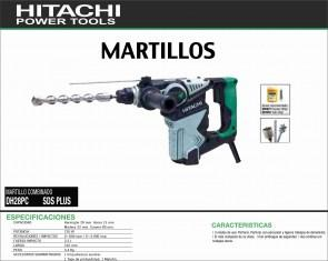 HITACHI-MAQUINARIA-MARTILLO-PERFORADOR-DH28PC-SDSPLUS
