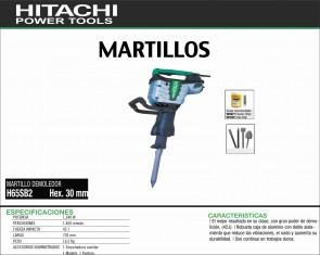 HITACHI-MAQUINARIA-MARTILLO-PICADOR-DEMOLEDOR-H65SB2-HEX.30MM