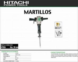 HITACHI-MAQUINARIA-MARTILLO-PICADOR-DEMOLEDOR-H70SA-HEX.30MM